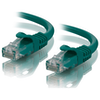 A product image of ALOGIC CAT6 1m Network Cable Green