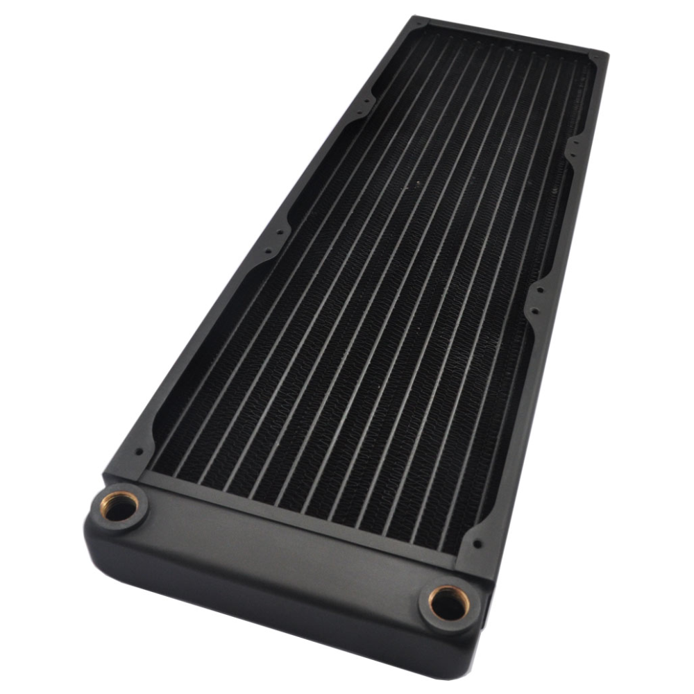 A large main feature product image of XSPC EX420 Triple Fan 420mm Radiator
