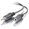A product image of ALOGIC 3.5mm M-F Stereo Plug 1m Extension Cable