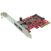 A product image of Shintaro 2 Port USB3.1 PCIe Card
