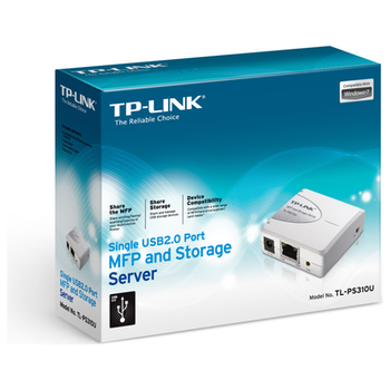 Product image of TP-LINK PS310U Wired USB Storage and Print Server - Click for product page of TP-LINK PS310U Wired USB Storage and Print Server