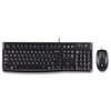A product image of Logitech MK120 Wired Desktop