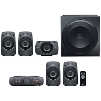 Product image of Logitech Z906 5.1-Channel THX Speakers - Click for product page of Logitech Z906 5.1-Channel THX Speakers