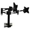 A product image of Brateck LCD-T9 Dual Monitor Table Stand with Arms