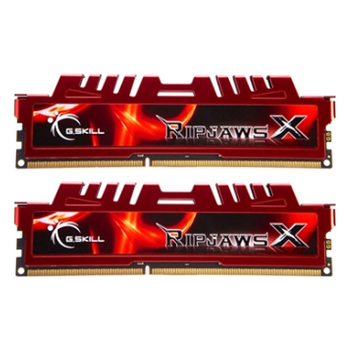 Product image of G.Skill 16GB Kit (2x8GB) DDR3 Ripjaws X C10 1600MHz - Click for product page of G.Skill 16GB Kit (2x8GB) DDR3 Ripjaws X C10 1600MHz