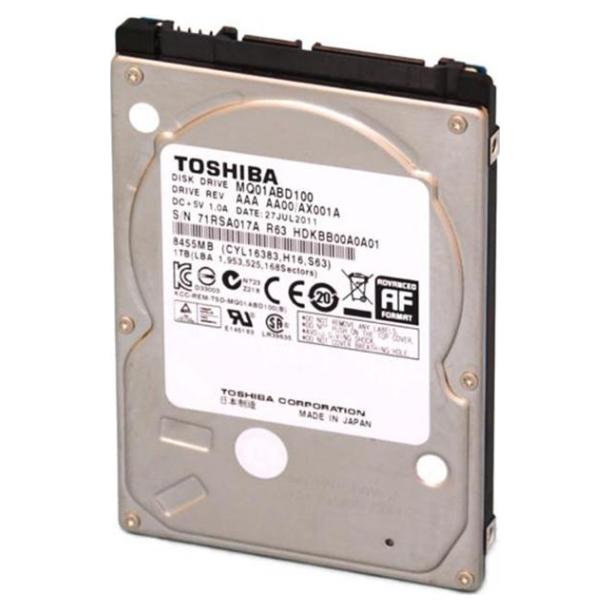 Toshiba 2 5 Quot 1tb 8mb 5400rpm Hdd Mq01abd100 Ple