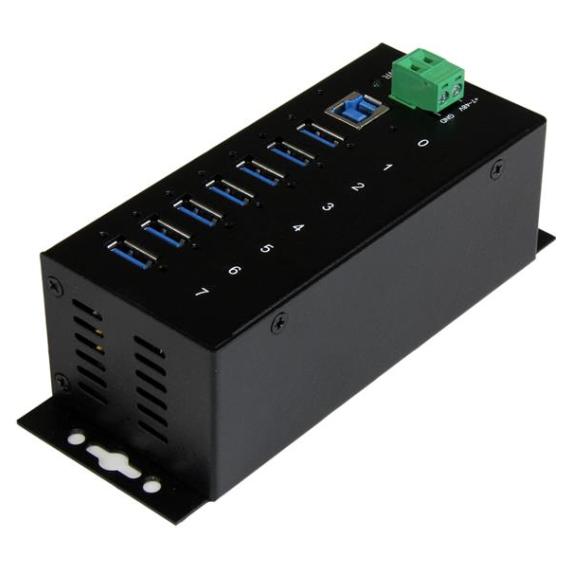 Startech 7 Port Metal Industrial USB 3.0 Hub
