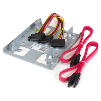 "Product image of Startech Dual 2.5"" SATA HDD to 3.5"" Mount Bracket - Click for product page of Startech Dual 2.5"" SATA HDD to 3.5"" Mount Bracket"