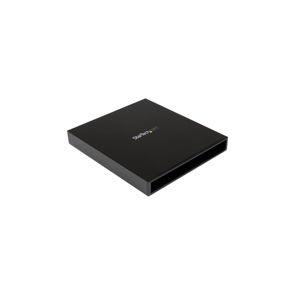 A large main feature product image of Startech USB3.0 to Slimline SATA ODD Enclosure