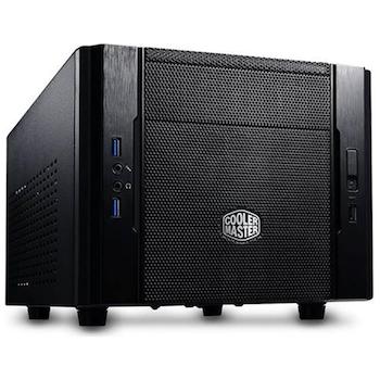 Product image of Cooler Master Elite 130 Black mITX Case - Click for product page of Cooler Master Elite 130 Black mITX Case