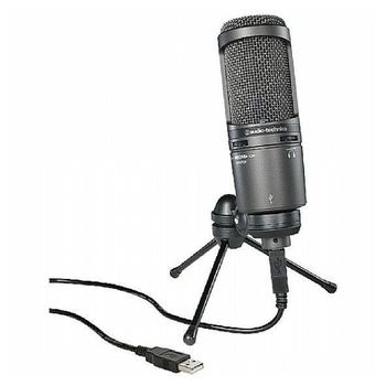 Product image of Audio Technica AT2020-USB+ Desktop Microphone - Click for product page of Audio Technica AT2020-USB+ Desktop Microphone