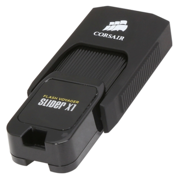 Product image of Corsair Flash Voyager Slider X1 32GB USB3.0 Flash Drive - Click for product page of Corsair Flash Voyager Slider X1 32GB USB3.0 Flash Drive
