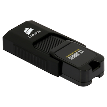 Product image of Corsair Flash Voyager Slider X1 256GB USB3.0 Flash Drive - Click for product page of Corsair Flash Voyager Slider X1 256GB USB3.0 Flash Drive