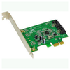 A product image of Shintaro 2 Port PCIe SATA3 6Gb/s Expansion Card