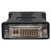A product image of Startech DVI to VGA Cable Adapter - Black - M/F