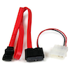 A product image of Startech Slimline SATA to SATA 50cm Cable