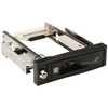 A product image of Startech 5.25in Trayless Mobile Rack for 3.5in HD