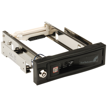 Product image of Startech 5.25in Trayless Mobile Rack for 3.5in HD - Click for product page of Startech 5.25in Trayless Mobile Rack for 3.5in HD