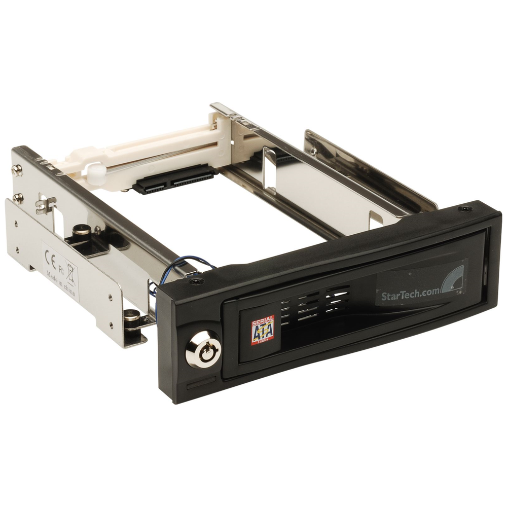 A large main feature product image of Startech 5.25in Trayless Mobile Rack for 3.5in HD