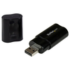 A product image of Startech ICUSBAUDIOB USB Audio Adapter External Sound Card