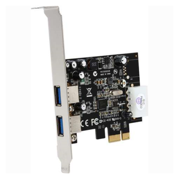 Product image of Startech 2 Port PCIe USB 3.0 Card with UASP - Click for product page of Startech 2 Port PCIe USB 3.0 Card with UASP