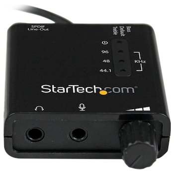 Product image of Startech USB Sound Card Audio Adapter w/ SPDIF - Click for product page of Startech USB Sound Card Audio Adapter w/ SPDIF
