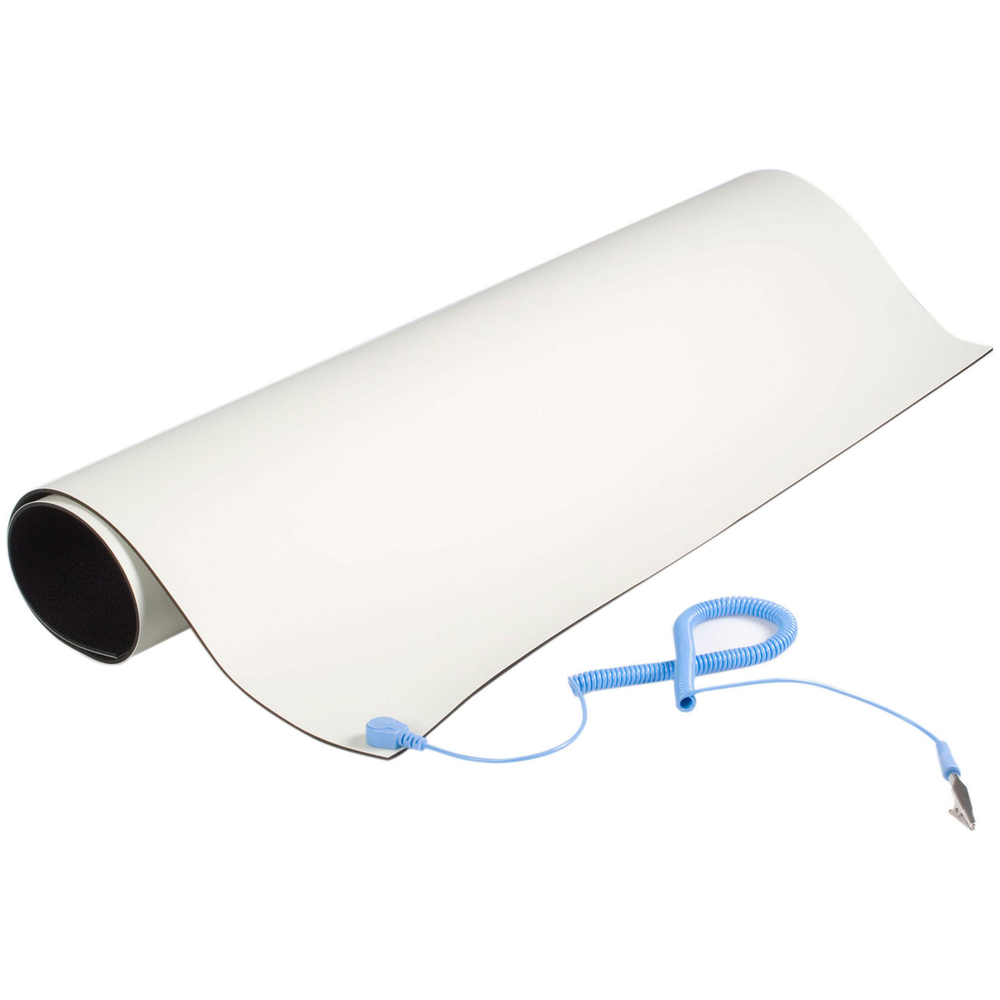 A large main feature product image of Startech Beige Desktop Anti-Static Mat
