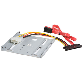 Product image of Startech 2.5 HD to 3.5 Drive Bay Mounting Kit  - Click for product page of Startech 2.5 HD to 3.5 Drive Bay Mounting Kit