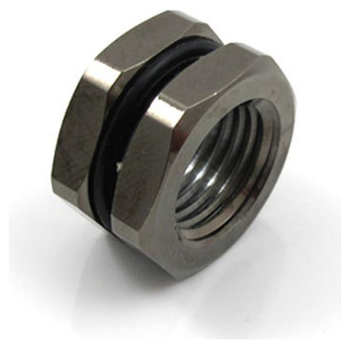 Product image of XSPC G1/4 Black Chrome Bulkhead Adapter - Click for product page of XSPC G1/4 Black Chrome Bulkhead Adapter