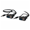 A product image of ALOGIC Pro Series Slim Flexible VGA 5m Cable with 3.5mm Stereo Audio Cable