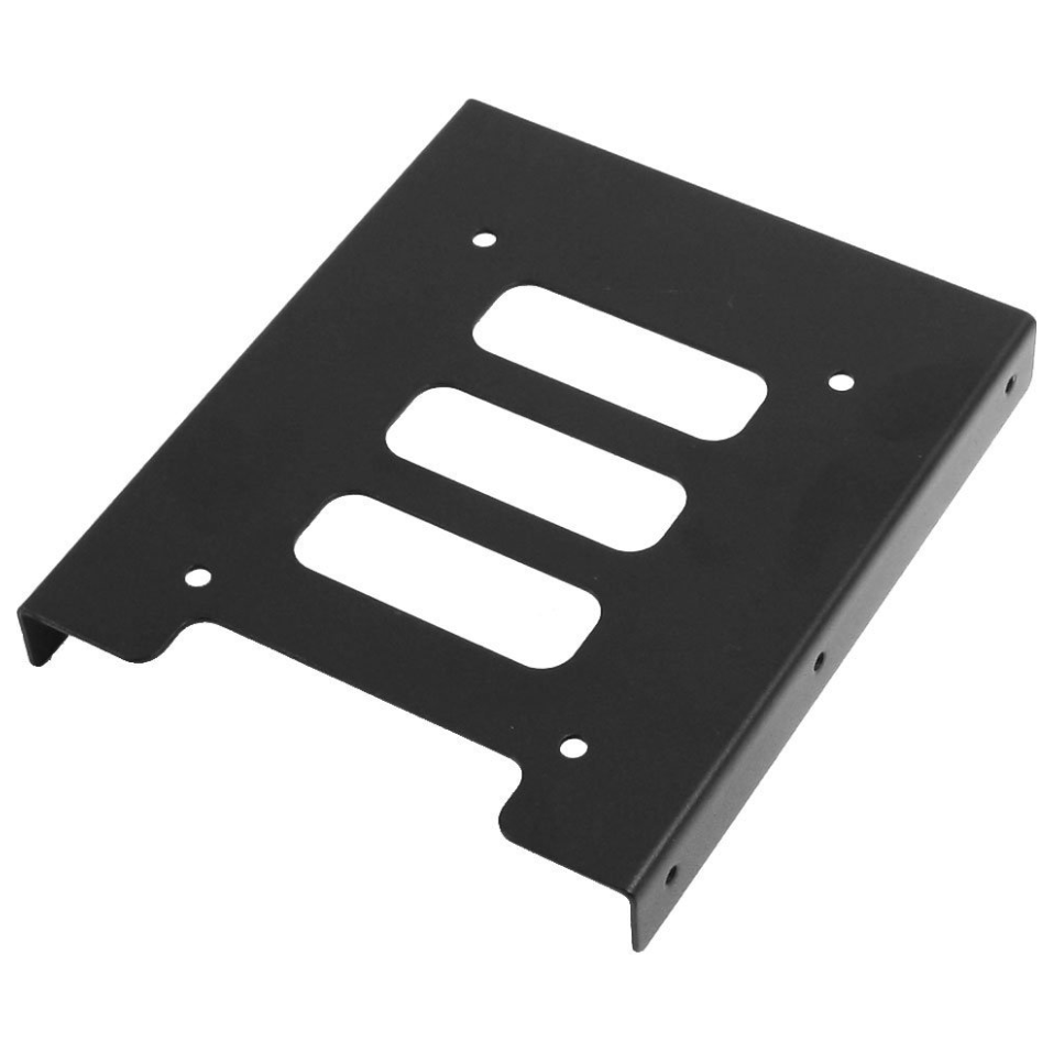 """100 2.5/"""" to 3.5/"""" Bay SSD Metal Hard Drive HDD Mounting Bracket Adapter Dock//Tray"""