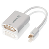 A product image of ALOGIC 15cm Mini DisplayPort to DVI Adapter Male to Female