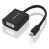 A product image of ALOGIC 20cm ACTIVE Mini DisplayPort to DVI Adapter Male to Female