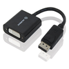 A product image of ALOGIC ACTIVE '4K' DisplayPort to DVI 20cm Male to Female Adapter Cable