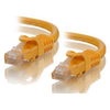A product image of ALOGIC CAT6 0.5m Network Cable Yellow