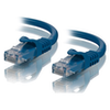 A product image of ALOGIC CAT6 1m Network Cable Blue