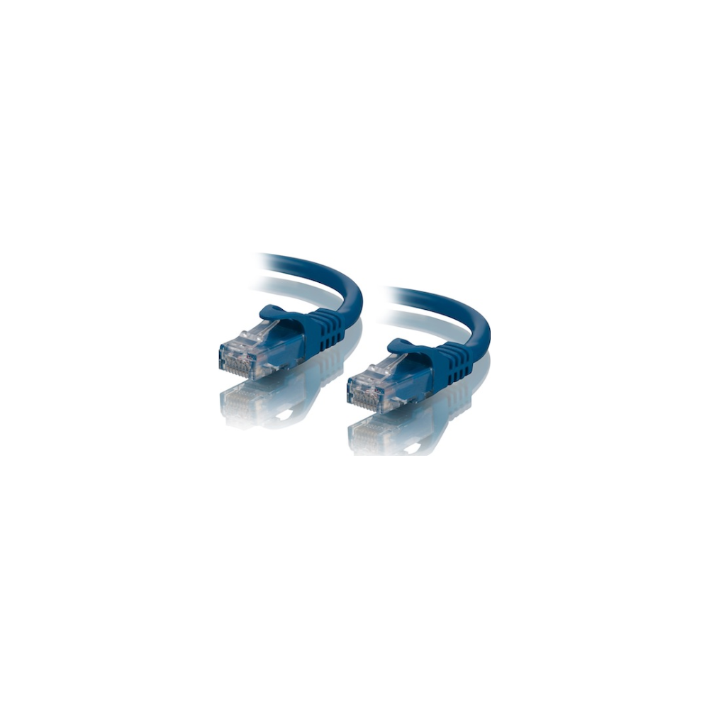 A large main feature product image of ALOGIC CAT6 1m Network Cable Blue