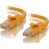 A product image of ALOGIC CAT6 1m Network Cable Yellow