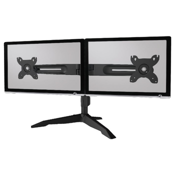 "Product image of Aavara AV-DS210 Freestanding Dual Monitor Stand (24 to 32"") - Click for product page of Aavara AV-DS210 Freestanding Dual Monitor Stand (24 to 32"")"