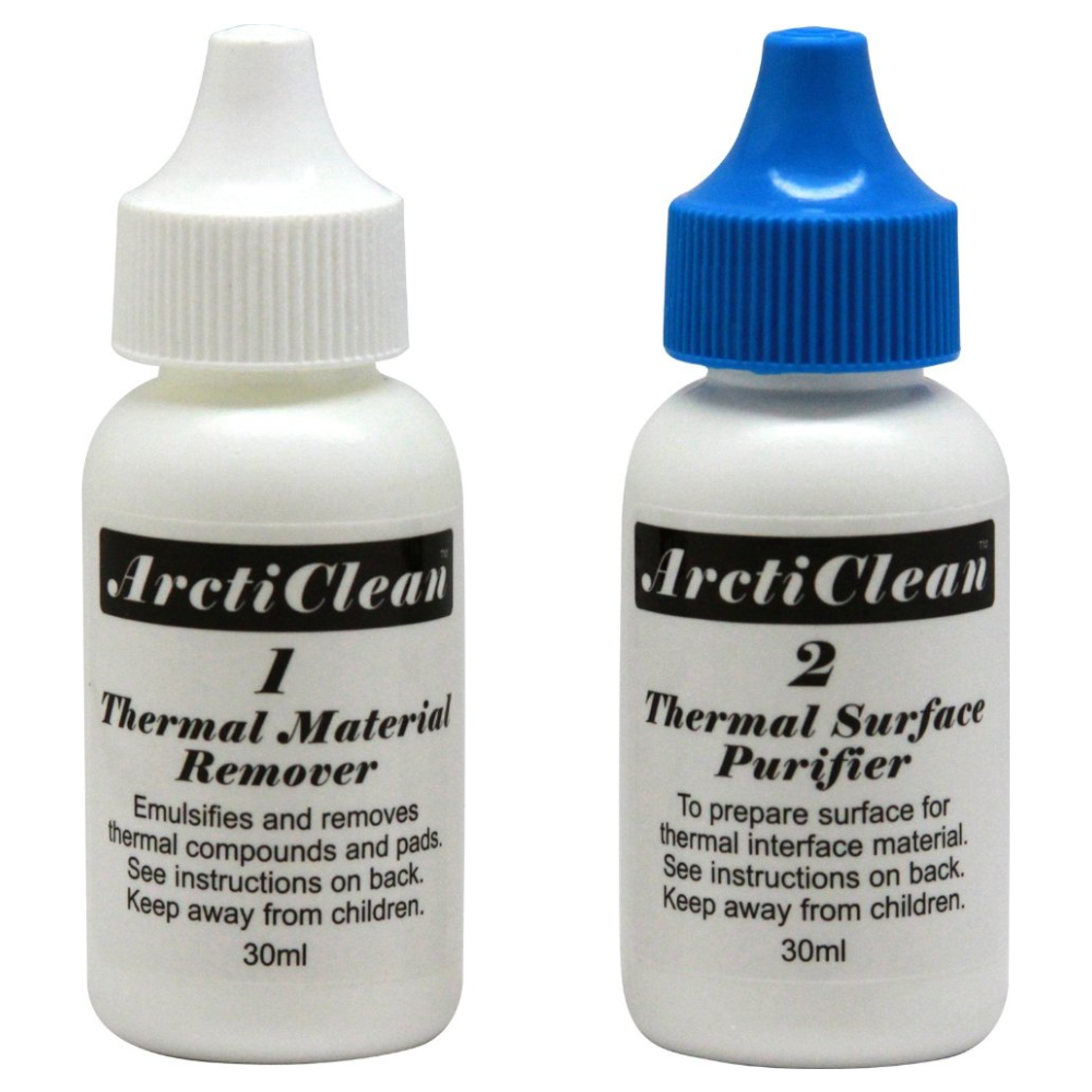 A large main feature product image of Arctic Silver Arcticlean Thermal Compound Remover