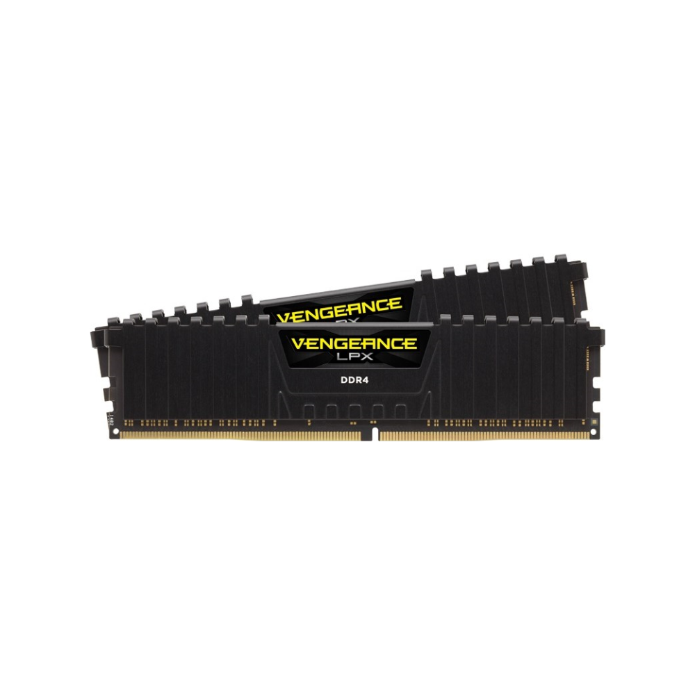 A large main feature product image of Corsair 8GB Kit (2x4GB) DDR4 Vengeance LPX Black C14 2400MHz