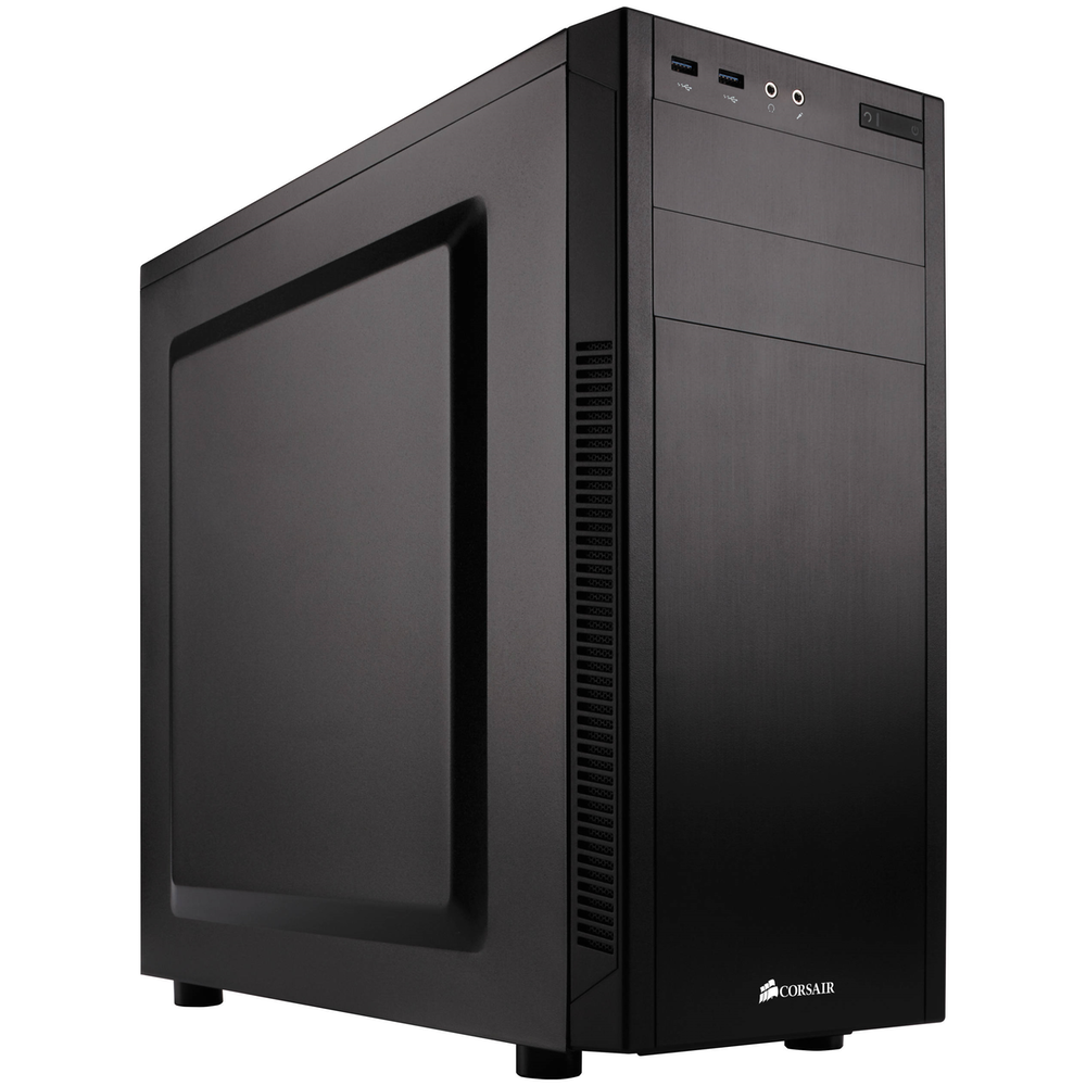A large main feature product image of Corsair Carbide 100R Silent Mid Tower Case