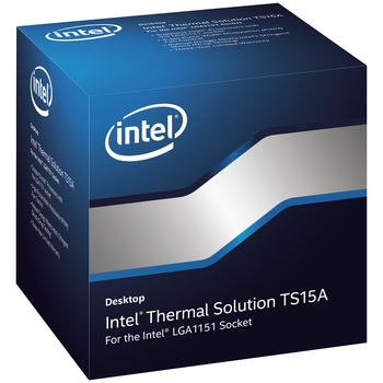 Product image of Intel Thermal Solution TS15A LGA115x/1200 CPU Cooler - Click for product page of Intel Thermal Solution TS15A LGA115x/1200 CPU Cooler