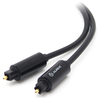 A product image of ALOGIC Premium 1m Optical Fibre Toslink Digital Audio Cable Male to Male