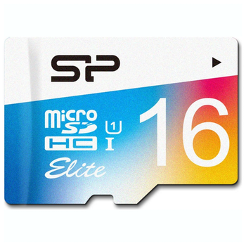Product image of Silicon Power 16GB Elite UHS-1 microSD Card (inc. SD Adapter) - Click for product page of Silicon Power 16GB Elite UHS-1 microSD Card (inc. SD Adapter)