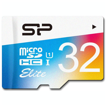 Product image of Silicon Power 32GB Elite UHS-1 microSD Card (inc. SD Adapter) - Click for product page of Silicon Power 32GB Elite UHS-1 microSD Card (inc. SD Adapter)