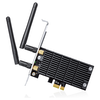 A product image of TP-LINK Archer T6E Dual-Band Wireless-AC1300 PCIe Adapter