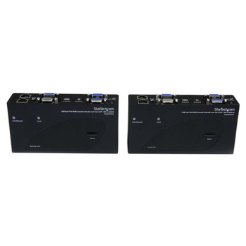 Product image of Startech USB Dual Display VGA Ethernet KVM Extender - Click for product page of Startech USB Dual Display VGA Ethernet KVM Extender