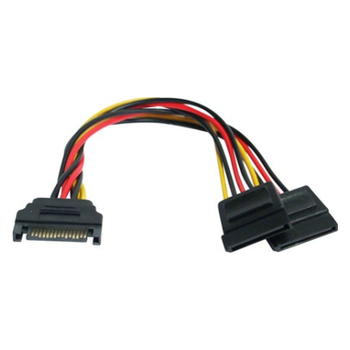 Product image of Generic SATA to 2x SATA Power Cable - Click for product page of Generic SATA to 2x SATA Power Cable
