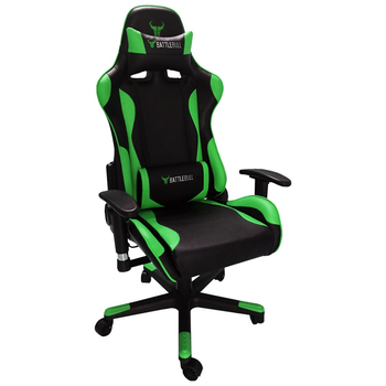 Product image of BattleBull Combat Gaming Chair Black/Green - Click for product page of BattleBull Combat Gaming Chair Black/Green